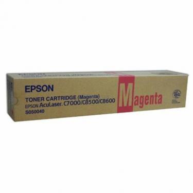 Картридж Epson AcuLaser C8500/C8600 magenta (C13S050040) - фото 1