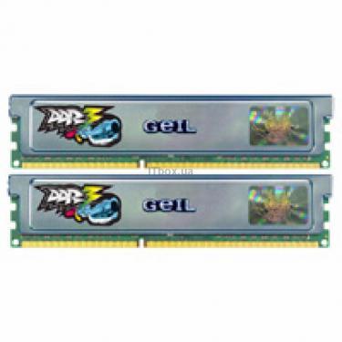 Модуль памяти для компьютера DDR3 4GB (2x2GB) 2000 MHz GEIL (GU34GB2000C9DC) - фото 1