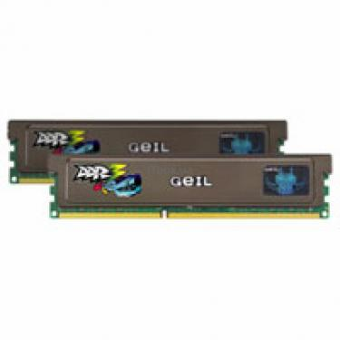 Модуль памяти для компьютера DDR3 4GB (2x2GB) 1333 MHz GEIL (GV34GB1333C9DC) - фото 1