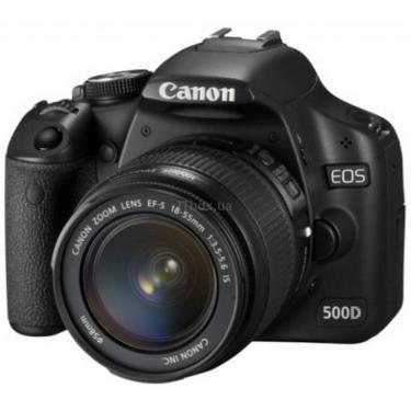 Цифровий фотоапарат EOS 500D 18-55 IS lens kit Canon (3820B002/3820B008/3820B119) - фото 1