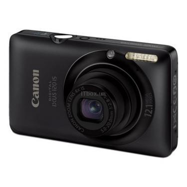 Цифровой фотоаппарат Digital IXUS 120is black Canon (3966B001) - фото 1
