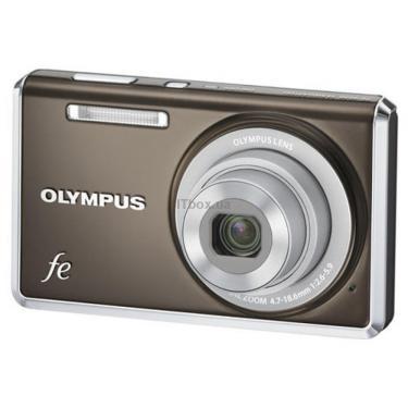 Цифровий фотоапарат FE-4030 indium grey OLYMPUS (N3832792) - фото 1
