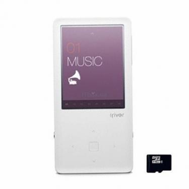 mp3 плеер E150 white iRiver (3E1502C-RUWEN1) - фото 1