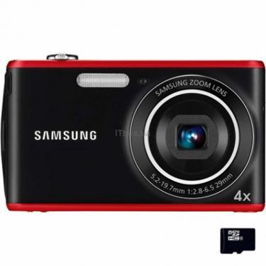 Цифровой фотоаппарат PL90 red Samsung (EC-PL90ZZBPRRU) - фото 1