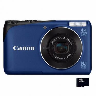 Цифровой фотоаппарат PowerShot A2200 blue Canon (4942B018) - фото 1