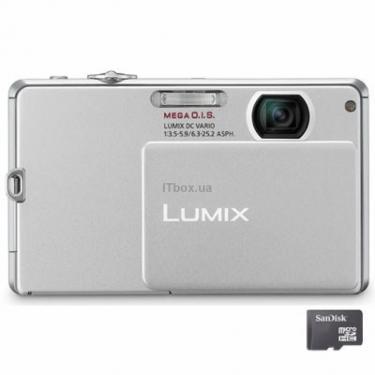 Цифровий фотоапарат Lumix DMC-FP2 silver Panasonic (DMC-FP2EE-S) - фото 1