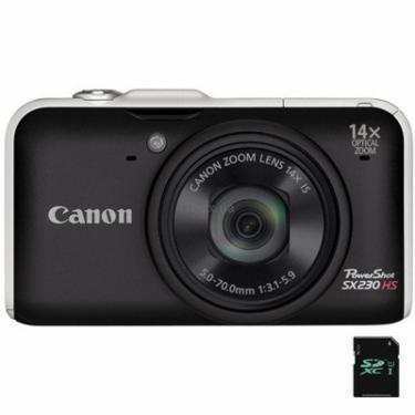 Цифровой фотоаппарат PowerShot SX230 HS black Canon (5043B015/5043B002) - фото 1