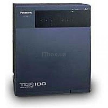 Мини-АТС KX-TDA100 Panasonic (KX-TDA100UA+PSU(TDA0108)) - фото 1