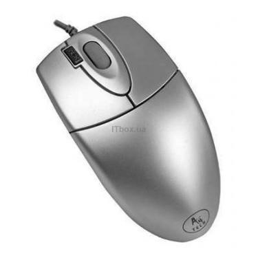 Мышка A4tech OP-620D SILVER-PS - фото 1