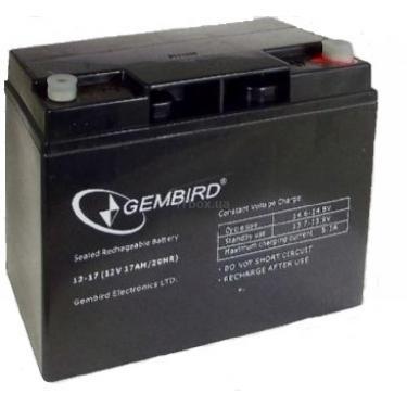 Батарея к ИБП 12В 17 Ач GEMBIRD (BAT-12V17AH_1) - фото 1