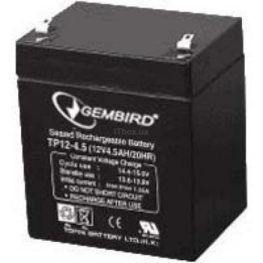 Батарея к ИБП BAT-6V4.5AH GEMBIRD (BAT-6V4.5AH_1) - фото 1