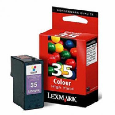 Картридж №35 Color LEXMARK (18C0035E) - фото 1