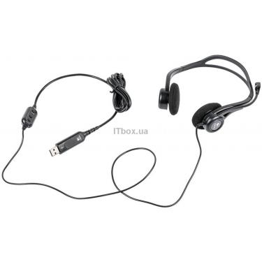Навушники Logitech PC 960 Stereo Headset USB (981-000100) - фото 5