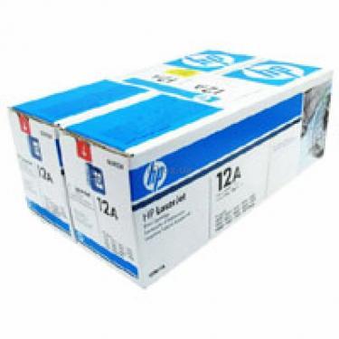 Картридж HP LJ 1010/ 1012/ 1015/1020 DUAL PACK (Q2612AD) - фото 1