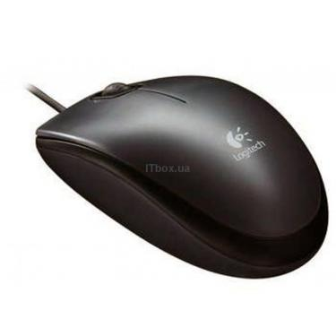 Мишка Logitech M100 Dark (910-001604) - фото 1