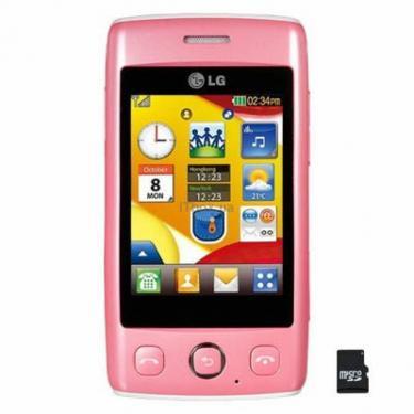 Мобільний телефон T300 (Cookie Light) Pink LG (T300 PK) - фото 1