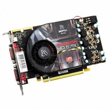 Видеокарта Radeon HD 5750 1024Mb XFX (HD-575X-ZMD3) - фото 1