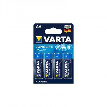 Батарейка Varta AA LONGLIFE Power LR6 * 4 (04906121414) - фото 1