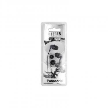 Навушники PANASONIC RP-HJE118GU-K - фото 4