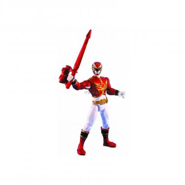 Фигурка Power Rangers Красный рейнджер металлик Фото
