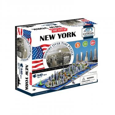 Пазл 4D Citysсape Нью-Йорк, США Фото