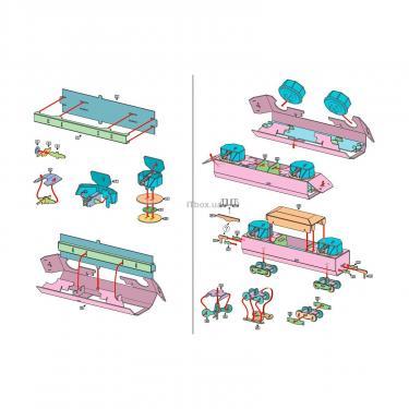Сборная модель Умная бумага Бронеплощадка Фото 2