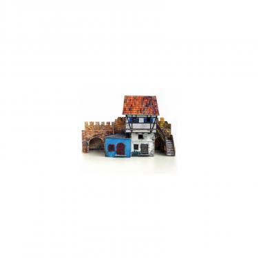 Сборная модель Умная бумага Дом у стены серии Средневековый город Фото 1