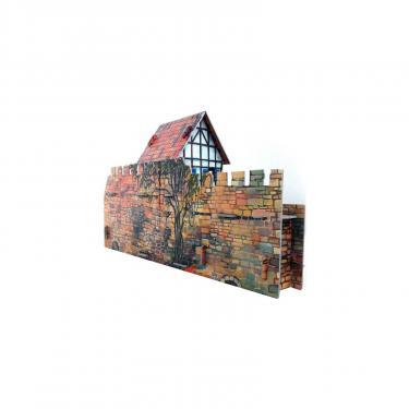 Сборная модель Умная бумага Дом у стены серии Средневековый город Фото 2