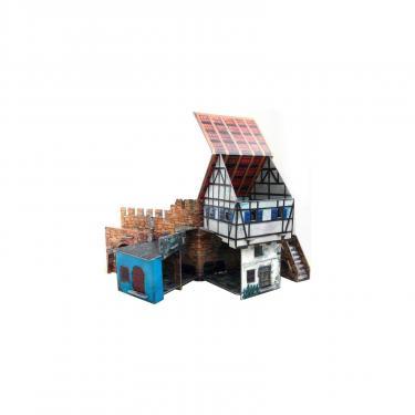Сборная модель Умная бумага Дом у стены серии Средневековый город Фото 3