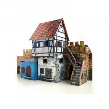 Сборная модель Умная бумага Дом у стены серии Средневековый город Фото