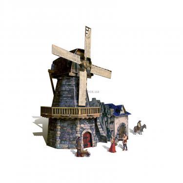 Сборная модель Умная бумага Мельница серии Средневековый город Фото