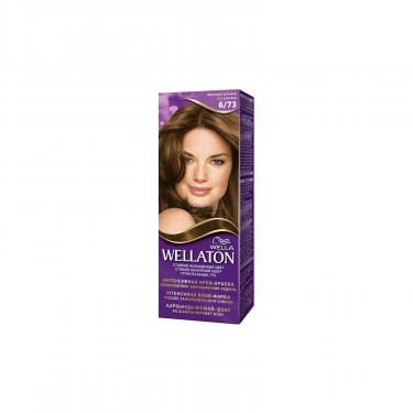 Крем-краска для волос Wellaton 6/73 Молочный шоколад (4056800621293) - фото 1