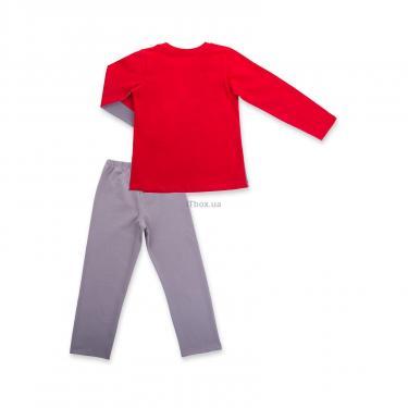 """Пижама Matilda """"8"""" (7486-116B-red) - фото 4"""