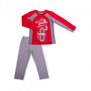 """Пижама Matilda """"8"""" (7486-116B-red) - фото 1"""