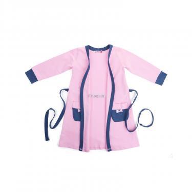 "Піжама Matilda и халат с мишками ""Love"" (7445-128G-pink) - фото 4"