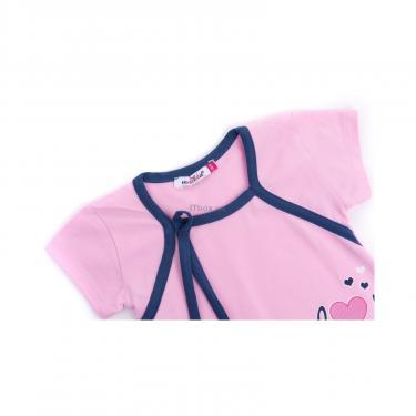 "Піжама Matilda и халат с мишками ""Love"" (7445-128G-pink) - фото 6"