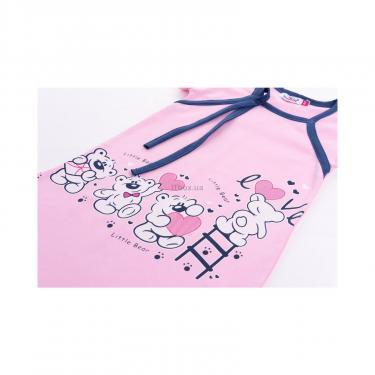 "Піжама Matilda и халат с мишками ""Love"" (7445-128G-pink) - фото 8"