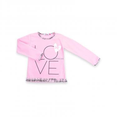 """Пижама Matilda с сердечками """"Love"""" (7585-116G-pink) - фото 2"""
