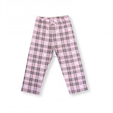 """Пижама Matilda с сердечками """"Love"""" (7585-116G-pink) - фото 3"""