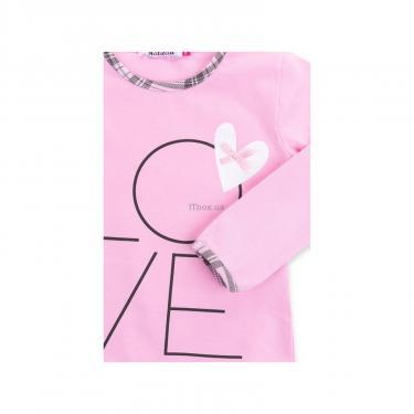 """Пижама Matilda с сердечками """"Love"""" (7585-116G-pink) - фото 8"""