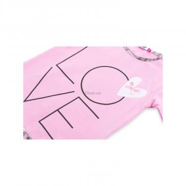 """Пижама Matilda с сердечками """"Love"""" (7585-116G-pink) - фото 9"""
