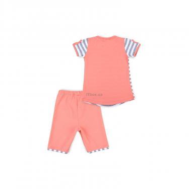 "Пижама Matilda ""LOVE"" (8016-3-128G-coral) - фото 4"