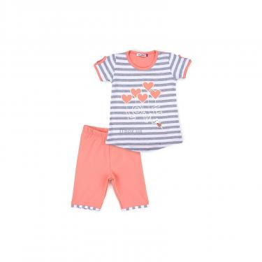 "Пижама Matilda ""LOVE"" (8016-3-128G-coral) - фото 1"