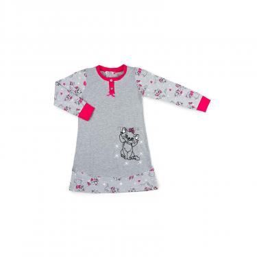 Пижама Matilda с котом (7364-176G-gray) - фото 1