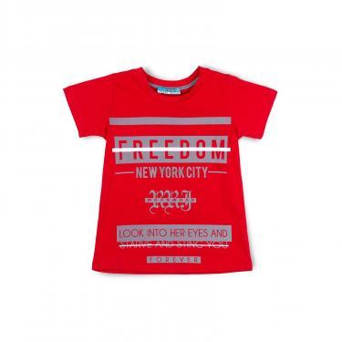"Пижама Matilda ""FREEDOM"" (7742-164B-red) - фото 2"