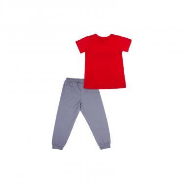 "Пижама Matilda ""FREEDOM"" (7742-164B-red) - фото 4"