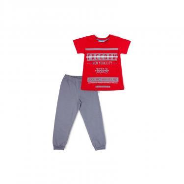 "Пижама Matilda ""FREEDOM"" (7742-164B-red) - фото 1"