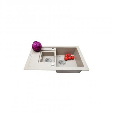 Мойка кухонная Perfelli PIERRA PGP 536-78 SAND Фото 2