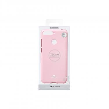 Чехол для моб. телефона Goospery Jelly Case для Huawei Y6 Prime 2018 Pink (8809610540577) - фото 3