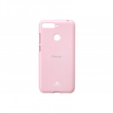 Чехол для моб. телефона Goospery Jelly Case для Huawei Y6 Prime 2018 Pink (8809610540577) - фото 1